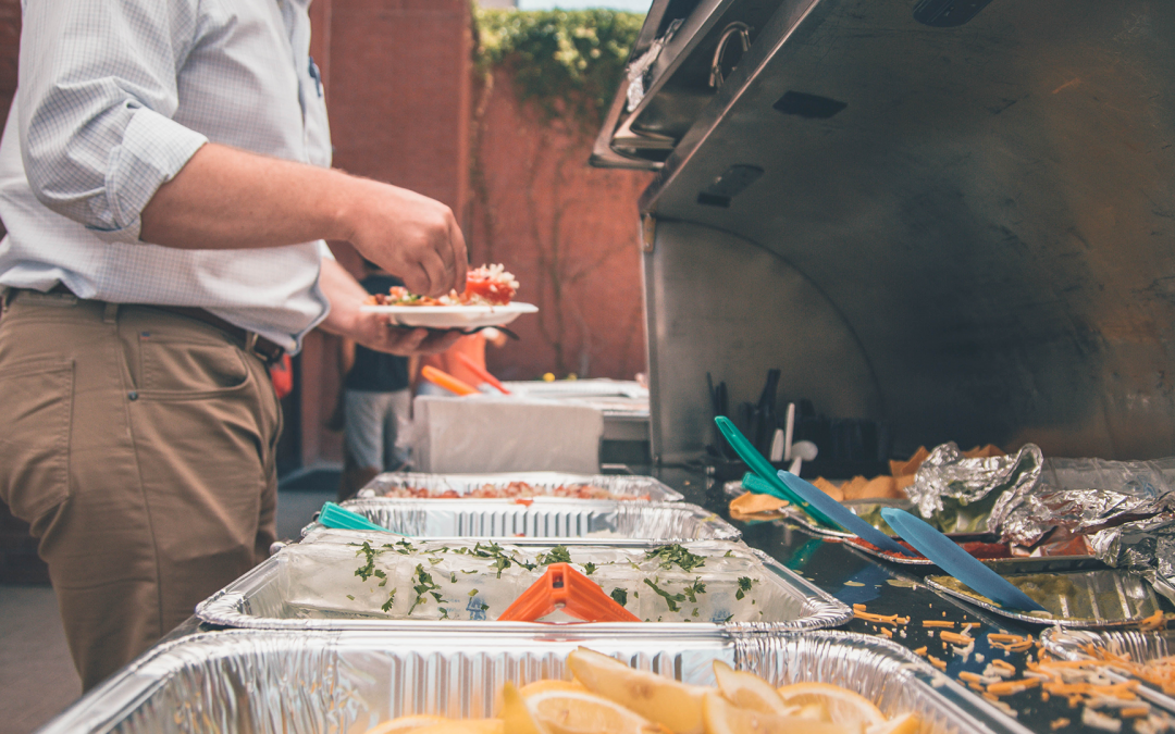 TOP 5 BENEFITS OF CATERING YOUR WORK EVENT