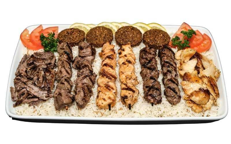 Menu | Basha's Shawarma